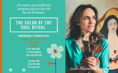 THE COLOR OF THE SOUL RITUAL  ∼ Wednesday March 10th 2021